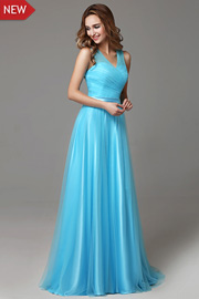 bridesmaid dresses with Ribbons - JW2665