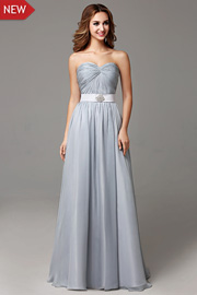 bridesmaid dresses with Ribbons - JW2666