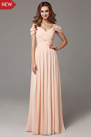 A-Line bridesmaid gowns - JW2668