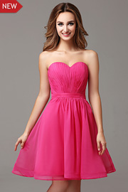 bridesmaid dresses with Ribbons - JW2682