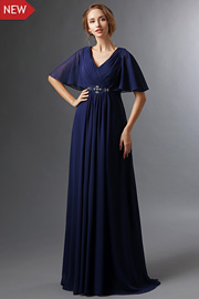 Classic mother of the groom dresses - JW2687