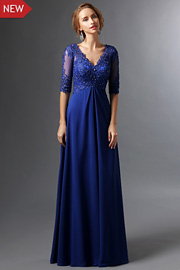 Classic mother of the groom dresses - JW2689