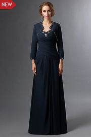 Classic mother of the groom dresses - JW2694