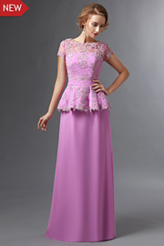 Classic mother of the groom dresses - JW2697