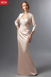 Plus Size mother of the bride gowns - JW2700
