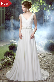 wedding dresses with beading - JW2588