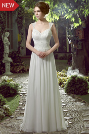 wedding dresses with beading - JW2589
