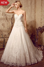 wedding dresses with beading - JW2608