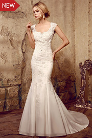 wedding dresses with beading - JW2609