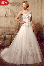 wedding dresses with beading - JW2614