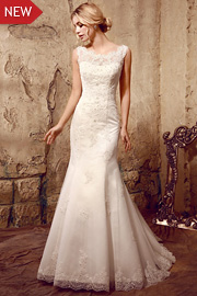wedding dresses with beading - JW2619