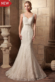 wedding dresses with beading - JW2621