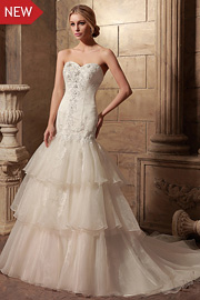 wedding dresses with beading - JW2624