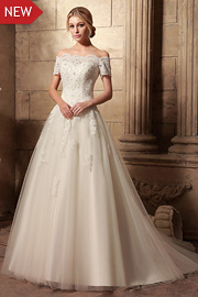 wedding dresses with beading - JW2629