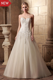 wedding dresses with beading - JW2631