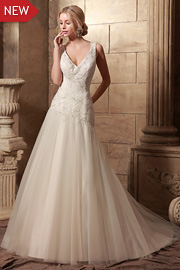 wedding dresses with beading - JW2632