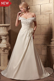 wedding dresses with beading - JW2633
