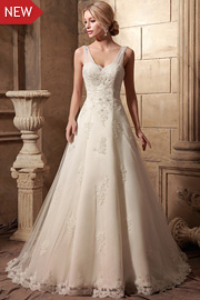 wedding dresses with beading - JW2634