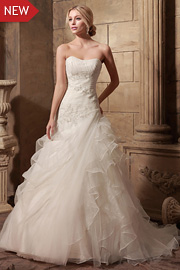 wedding dresses with beading - JW2635