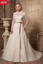 wedding dresses with beading - JW2636
