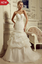 wedding dresses with beading - JW2648