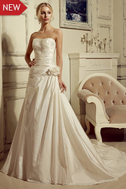 wedding dresses with beading - JW2652